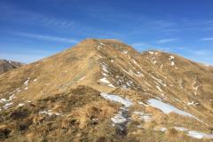Il Monte Gennaio dal poggio dei Malandrini