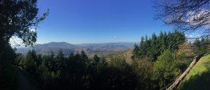 Montesenario, Valle e la prima neve