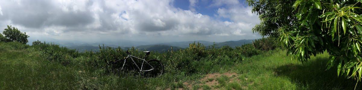 vista da monte Giovi